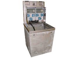 borne electrique escamotable pivotement esca 600