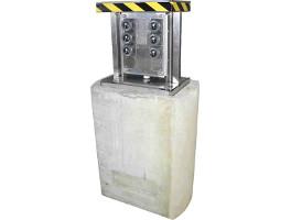 borne fabae micro escamotable levee verticale