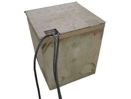 borne electrique escamotable fonctionnement ferme